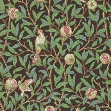 Bird & Pomegranate Charcoal/Sage
