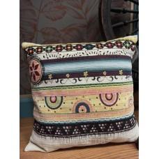 Подушка гобеленовая Art de Lys Богемные полоски 50x50