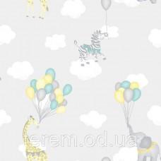 Animal Balloons Grey