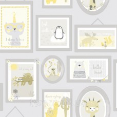 Animal Frames Yellow_Grey