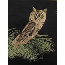 Гобеленовая картина Art de Lys Chouette beige  50x50  без подкладки