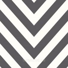Chevron Black White