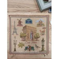 Гобеленовая картина Art de Lys C'est Paris Это Париж  25x25  без подкладки