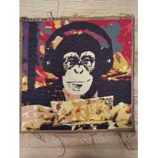 Гобеленовая картина Art de Lys  Monkey Street Art  50x50  без подкладки