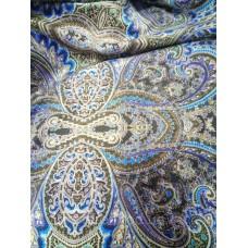 """Ткань для шторы, принт """"Восточный огурец"""", 140 см"""