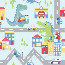 Dino Road Blue_Multi