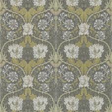 Honeysuckle & Tulip  Charcoal/Gold