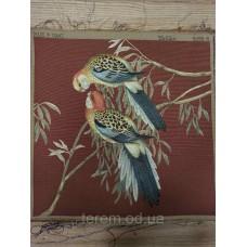 Гобеленовая картина Art de Lys 2 Perroquets colorés  50x50  без подкладки