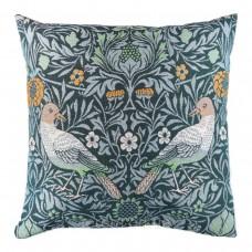 Подушка гобеленовая Art de lys Bird Couple сине-зеленая 50х50 8945