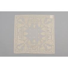 Салфетка Рождественская MYB хлопковая Madras 50х50см золотая 10200К-5