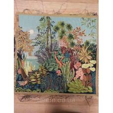 Гобеленовая картина Art de lys The Heron in the Nature, Anne Leurent 50x50 без подкладки